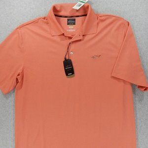 NWT Greg Norman FIVE IRON S/S Golf Polo Shirt